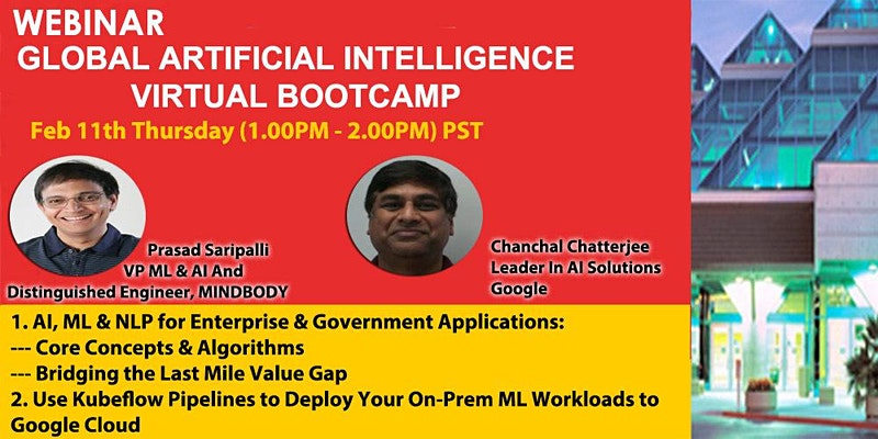 Global Artificial Intelligence Virtual Bootcamp
